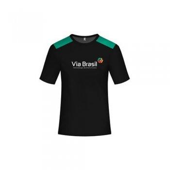 Camisa Escola Via Brasil