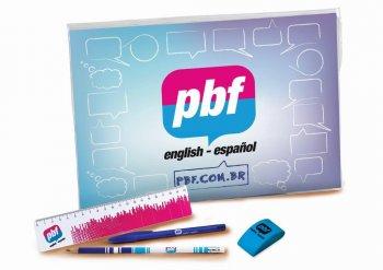 Conjunto Pasta Cristal PBF